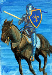 Jousting Painting