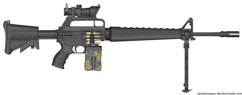The gallery for --> Futuristic Light Machine Guns