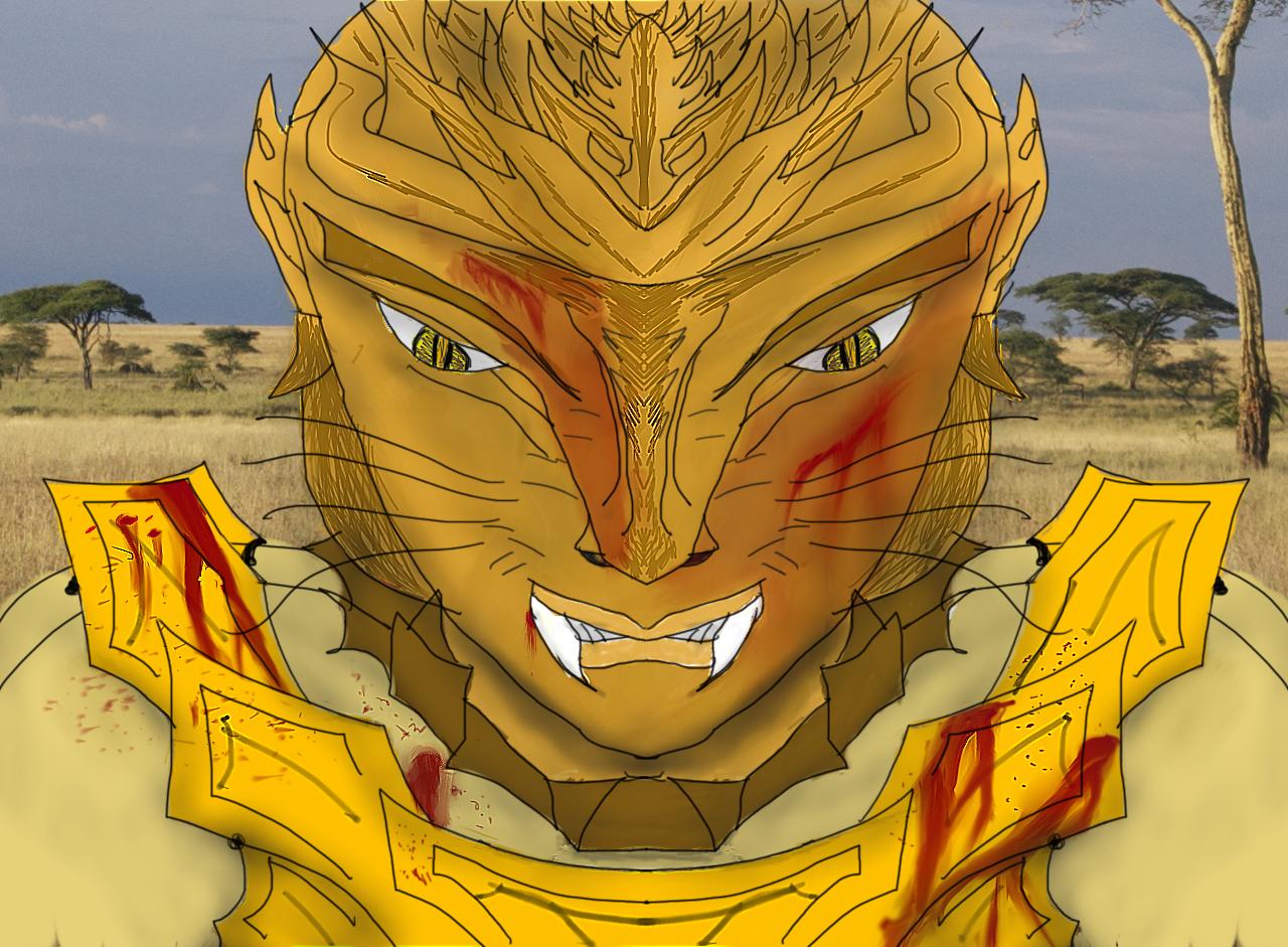 Deviantart Lion Warrior: World Of Dorgia: Taivoara, The Lion Warrior By Msfightera