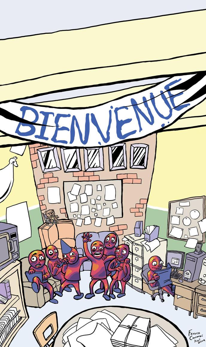 MotDit n0 2009 cover art by FrankieSmileShow
