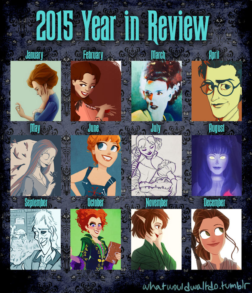 2015 year in review by Emmacabre