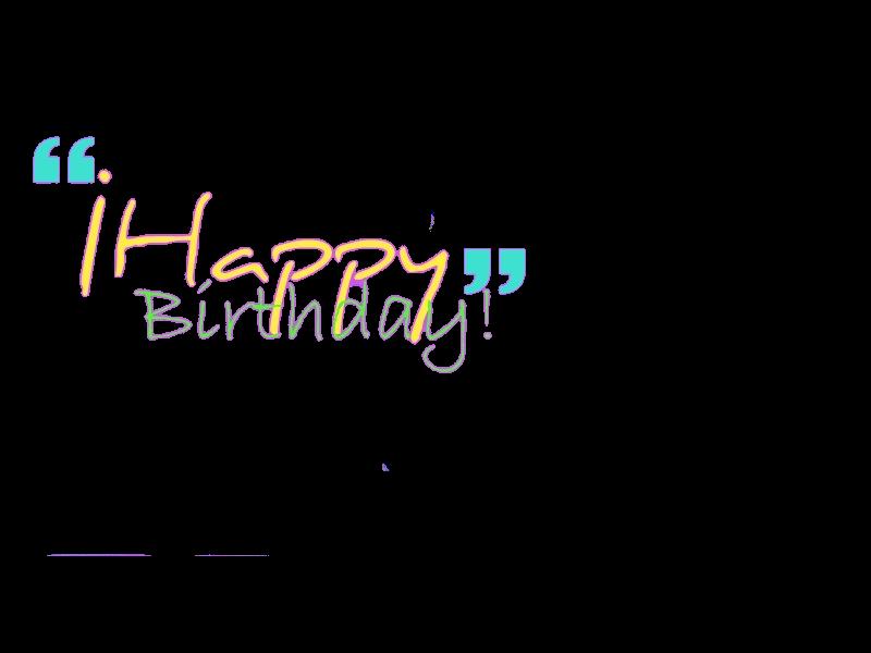 Happy Birthday Png by CrazierLove on DeviantArt