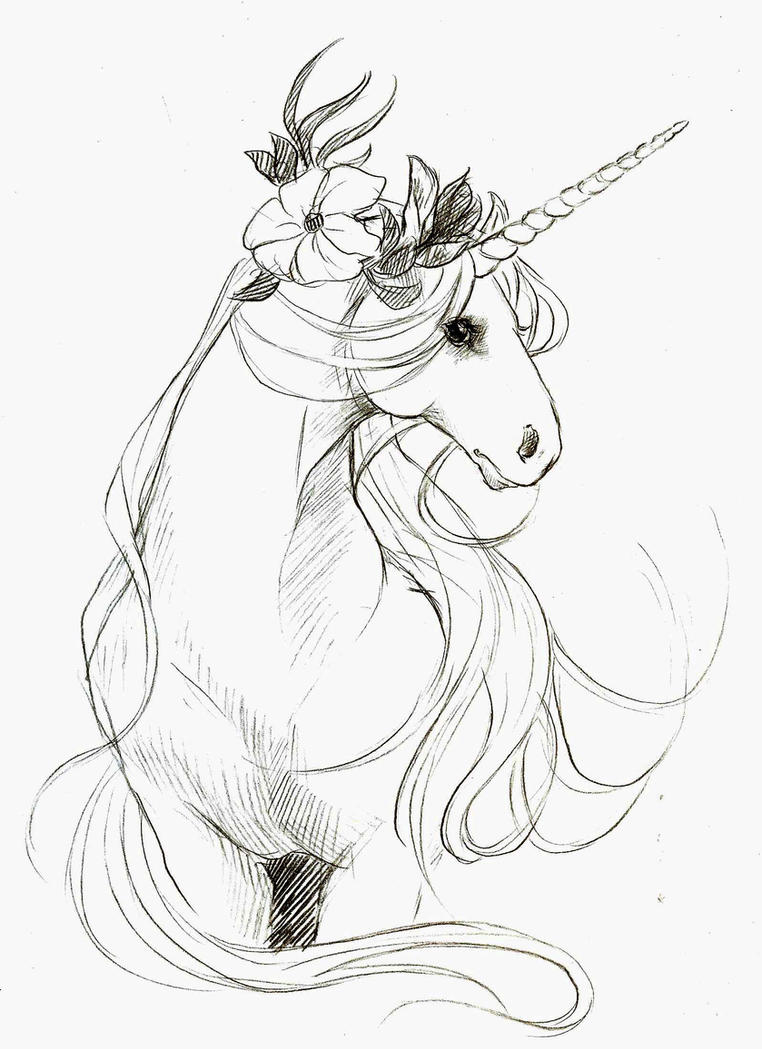 Easy Fairy And Unicorn Coloring Pages Coloring Pages