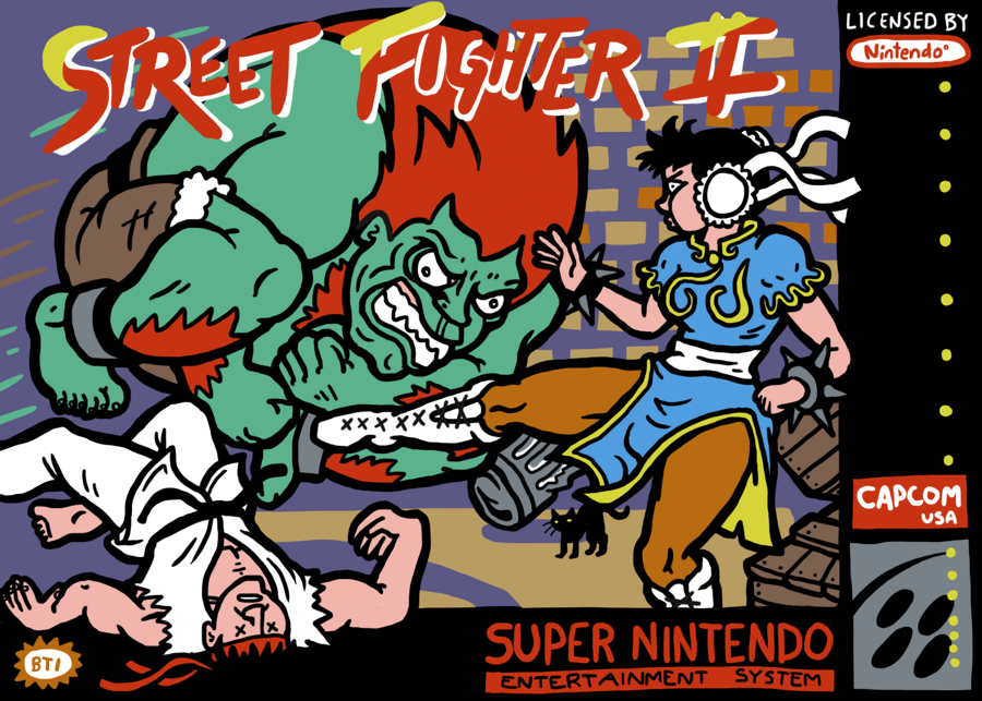 Street Fighter Two By Kyattsuai7 On Deviantart