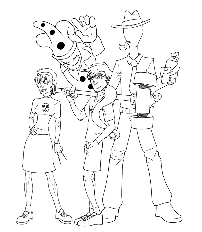 Line Art Home : Homestuck coloring pages sketch page