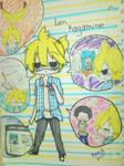 Len Kagamine (una amiga haciendo de el xD)