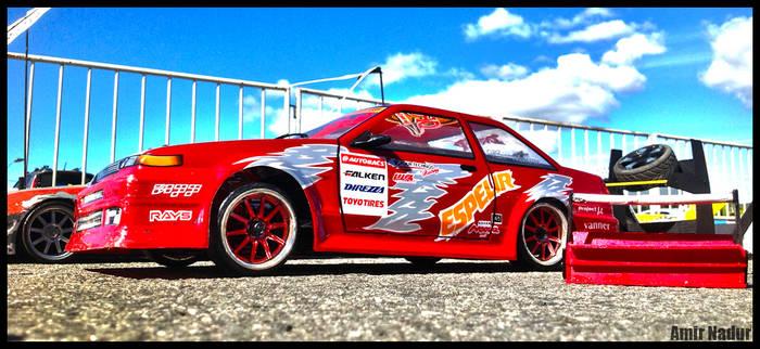 HPI sprint 2 RC car 1/10 scale