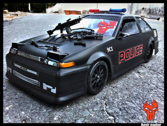 Police Trueno RC car