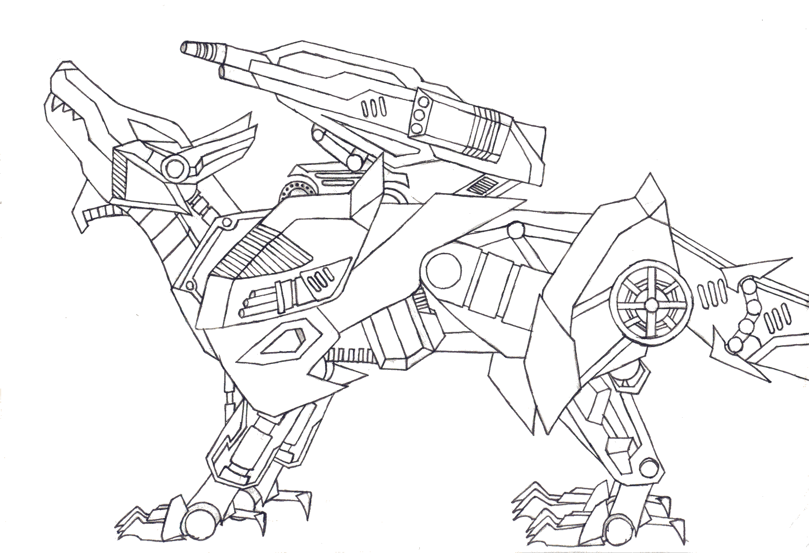 coloring pages zoids - photo#11