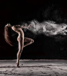 Flour and Paint Powder Shoot by lensworksphotography