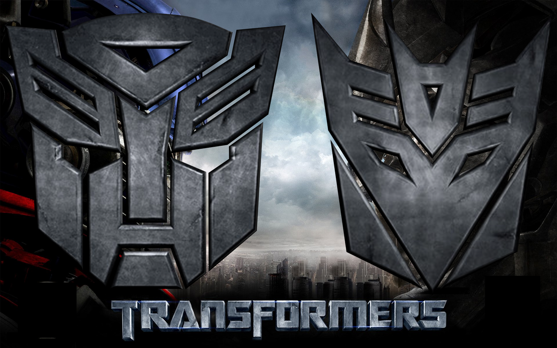 3d Autobot And Decepticon Logo By Td0615 On Deviantart