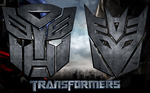 3D Autobot and Decepticon Logo