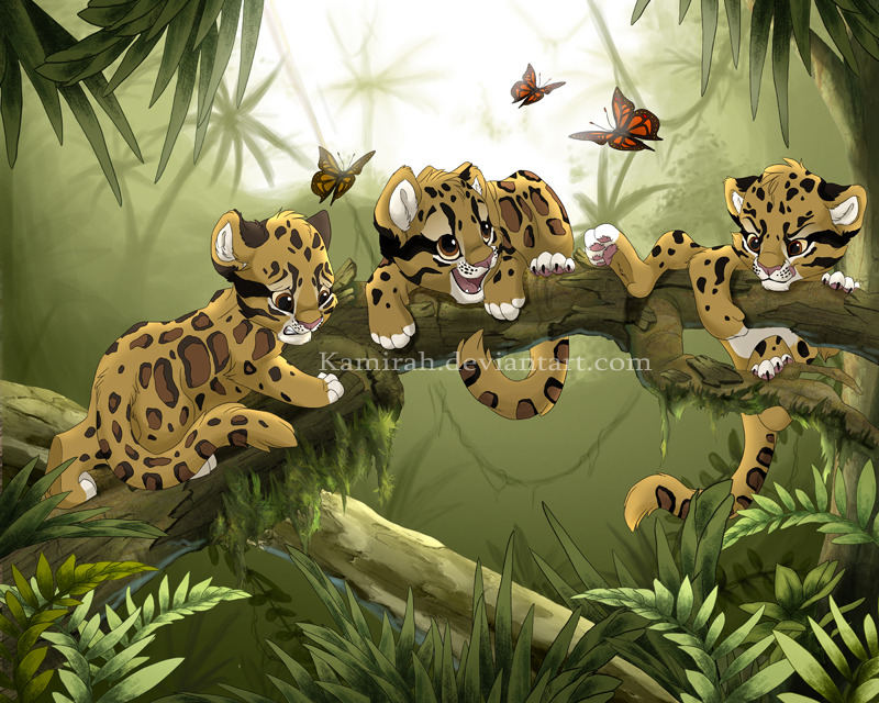 Kamirah una artista en DA In_the_jungle_by_Kamirah