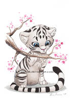 White Tiger by Kamirah
