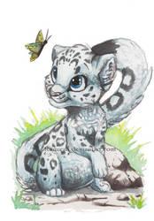 Snowleopard by Kamirah