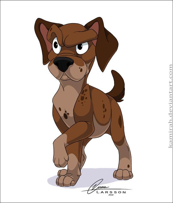 Random dog character by Kamirah