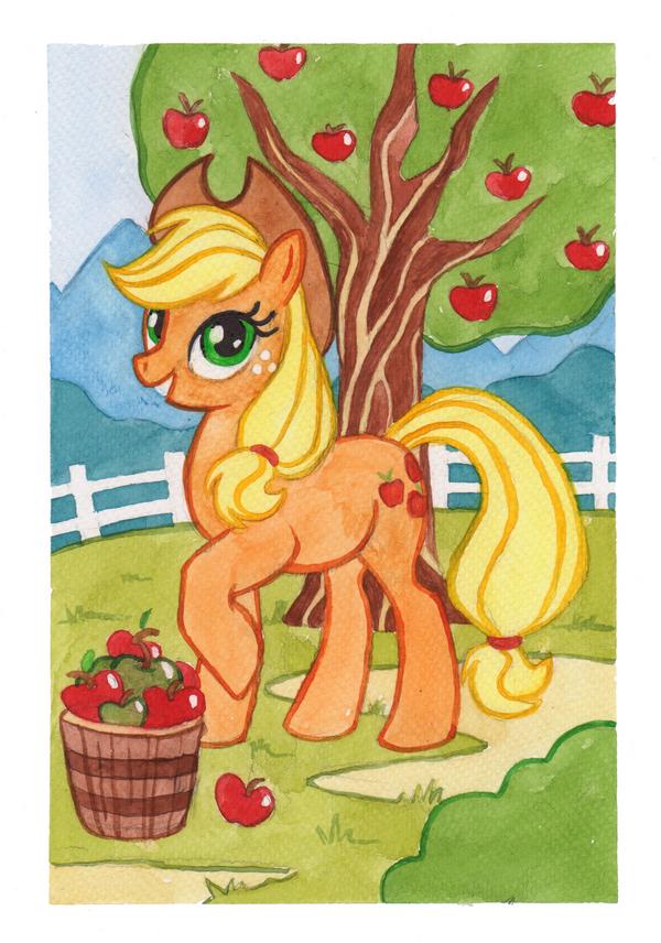 Applejack by Kamirah