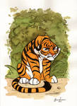 Grympy Tiger