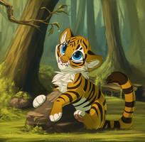 Tiger Cub 2014 by Kamirah