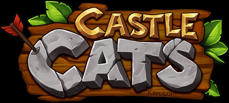 Castle Cats Logo by Kamirah