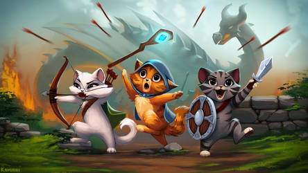 Castle Cats finally released!