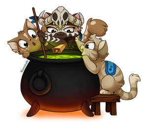 Alchemy Kitties by Kamirah