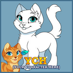 Cat YCH Commissions (OPEN) by Kamirah