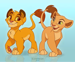 Simba And Nala