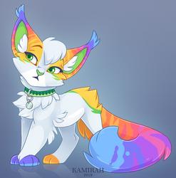 Commission :: Rainbow-Lava