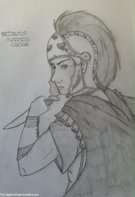 Octavius Augustus Caesar by Ellathebat