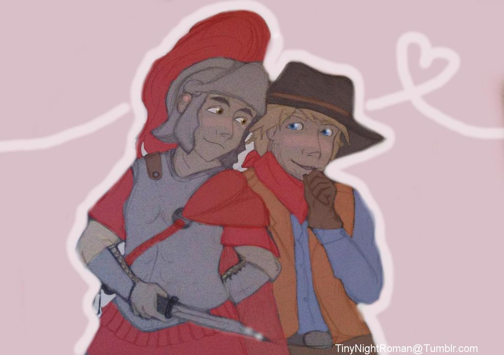 Tiny Boyfriends by Ellathebat