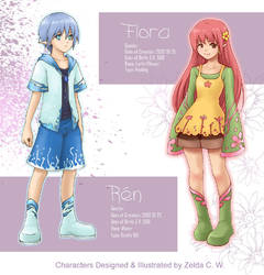 ROF: Flora x Ren by zeldacw