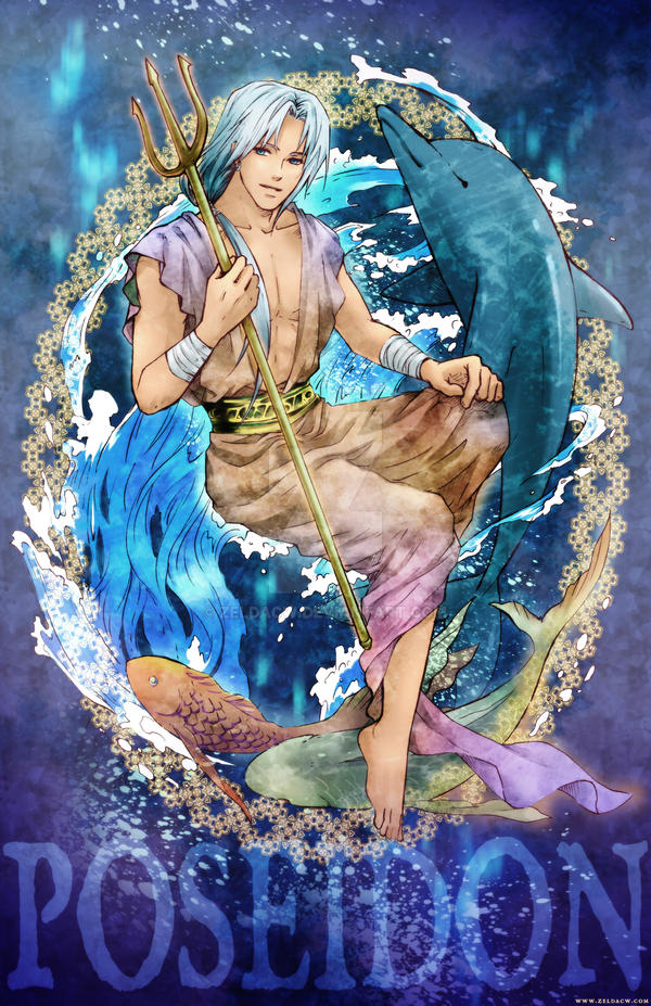 MYth Character: Poseidon by zeldacw