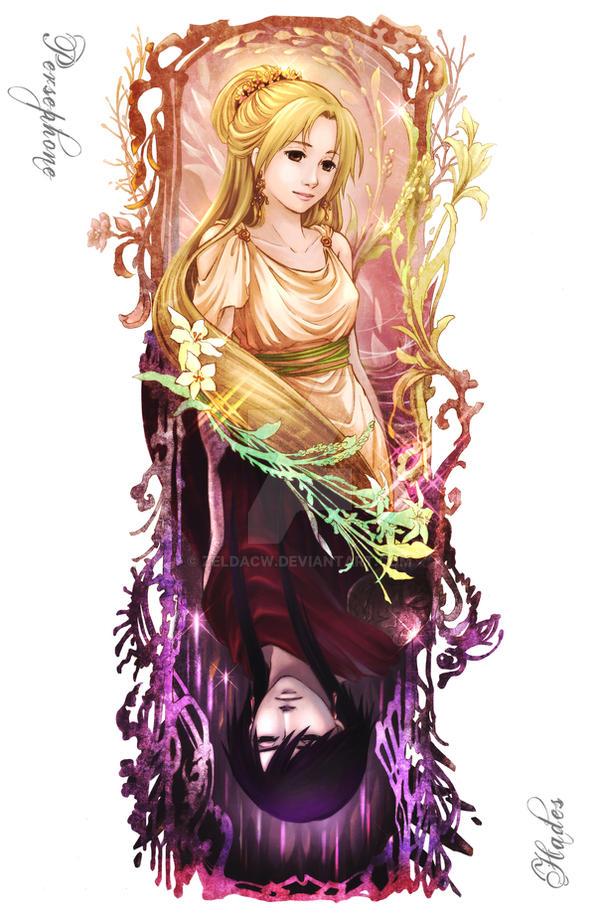 MYth: TIL Hades x Persephone by zeldacw on DeviantArt