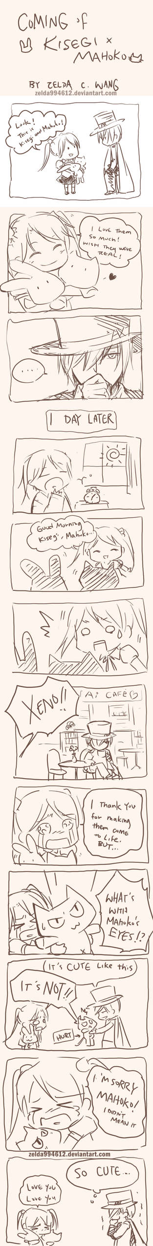 AX story: Kisegi x Mahoko