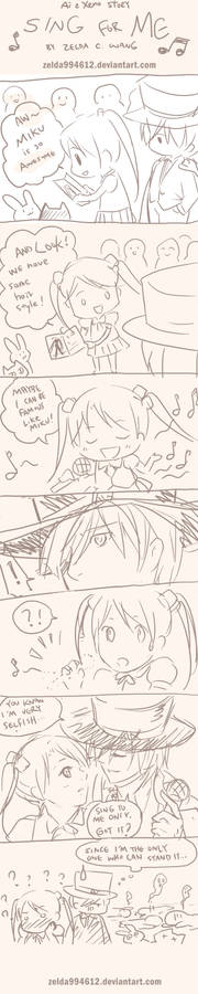 AX story: Sing to Me ONLY