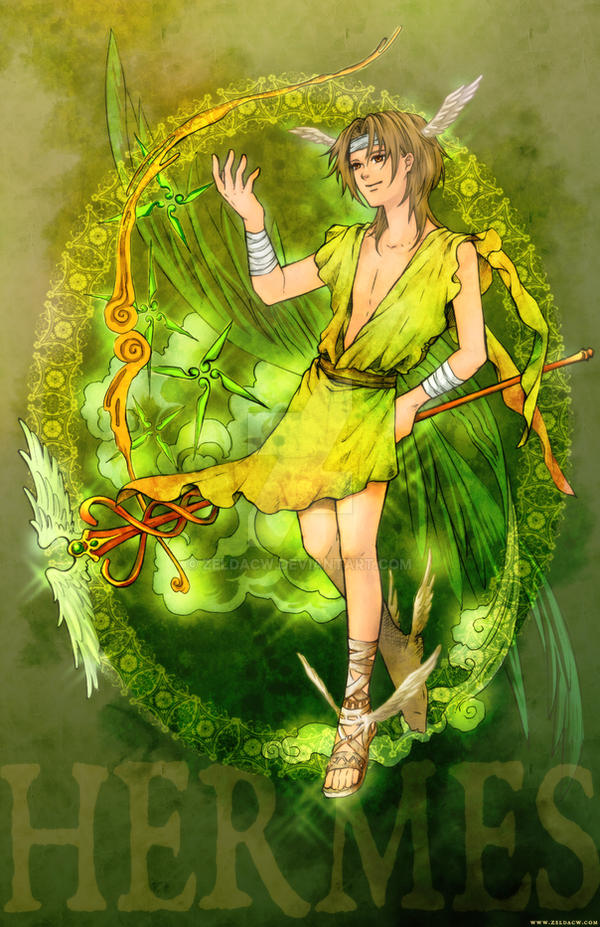 MYth character: Hermes by zeldacw