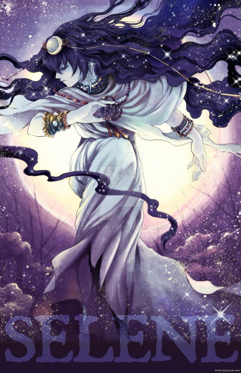 MYth character: Selene by zeldacw