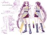 Outfit Sketch- Artemis