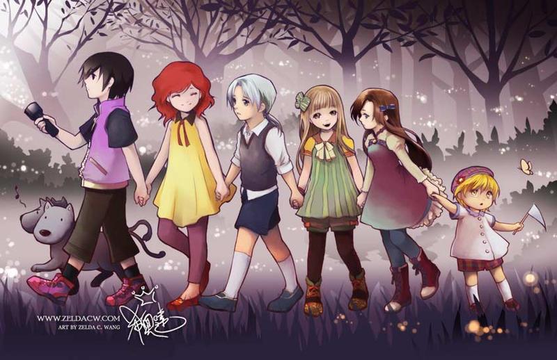Rhea's Children by zeldacw