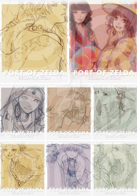 November weekly sketches reward by zeldacw