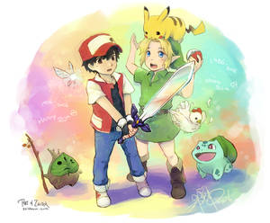 Pokemon x Legend of Zelda