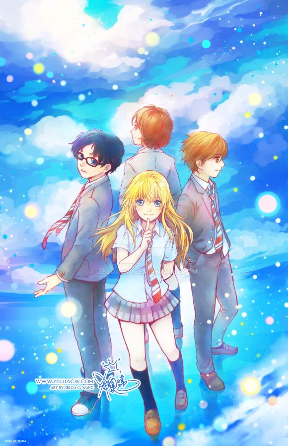Your Lie in April by zeldacw