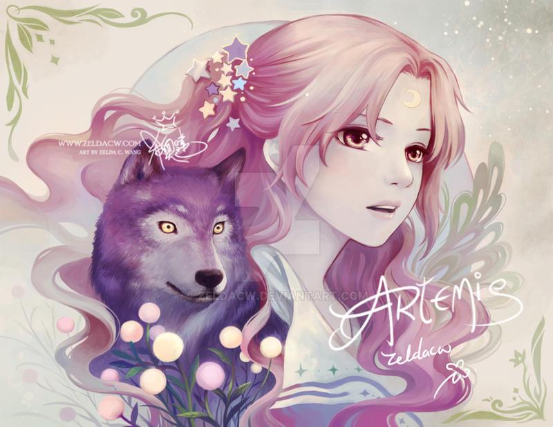 MYth 2017:  Artemis by zeldacw