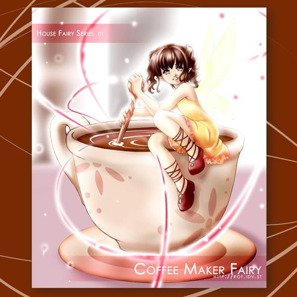 Fairy: Coffee by zeldacw
