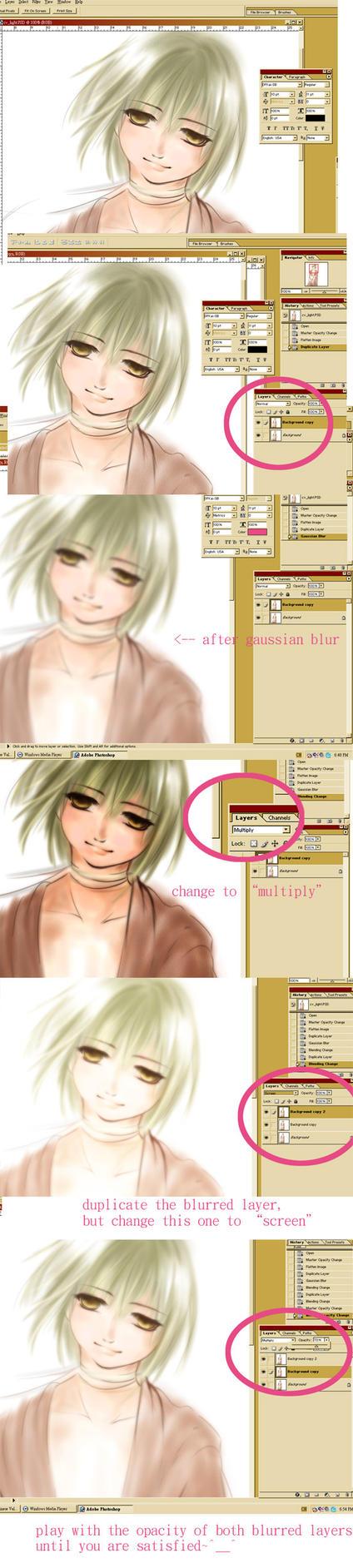 tutorial: soft glow effect by zeldacw