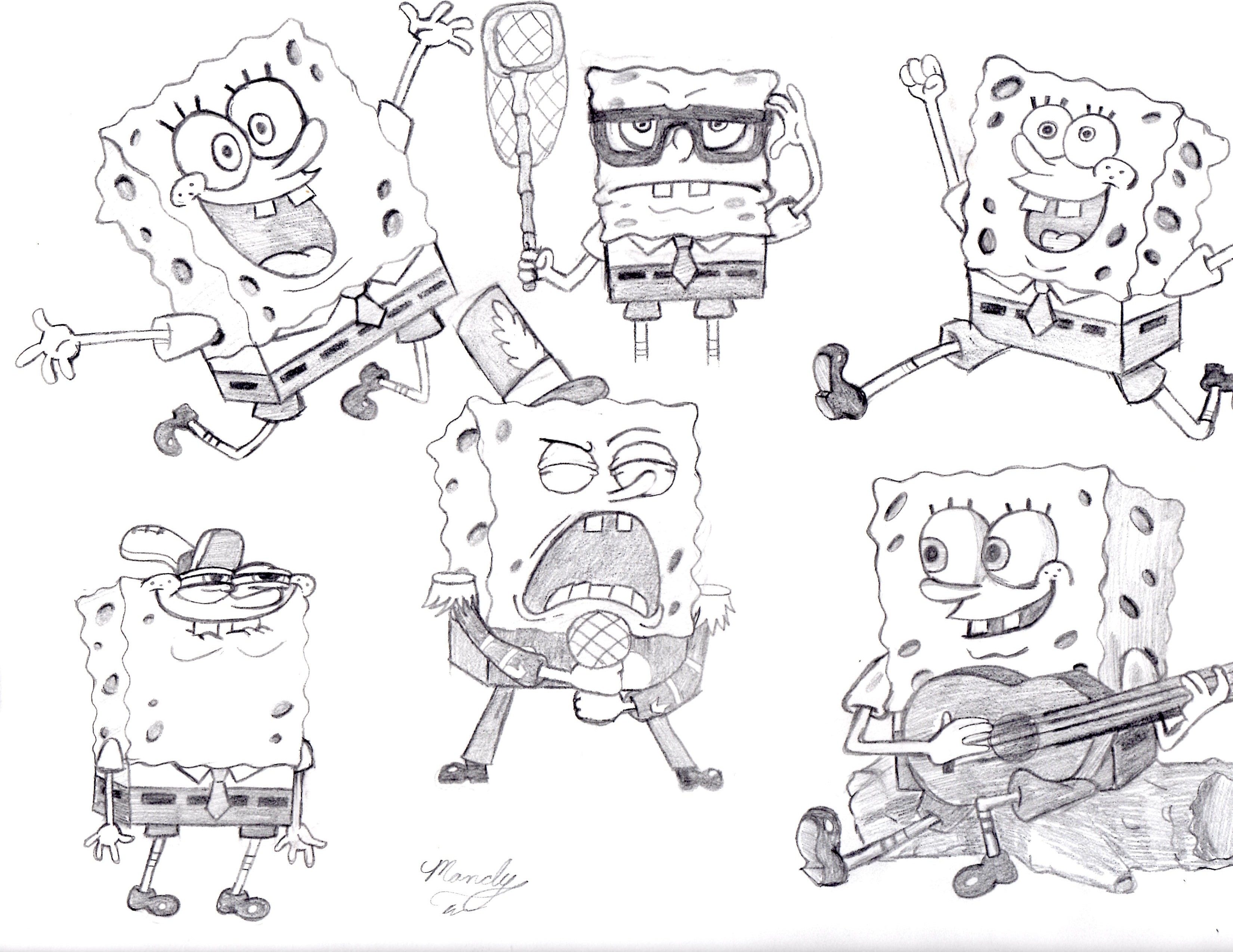 Holiday Coloring Pages Spongebob And Patrick Coloring Pages