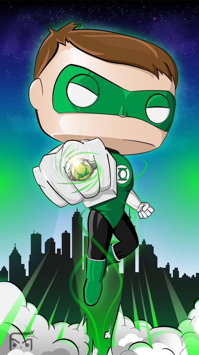 Green lantern funko pop wallpaper smartphone by tizitam on deviantart - Funko pop wallpaper ...