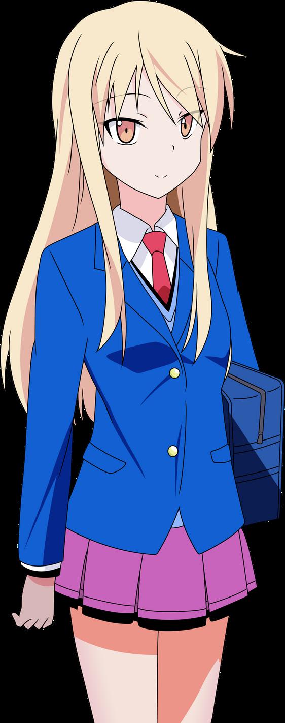 Shiina Mashiro - Vector by BluePinguin on DeviantArt