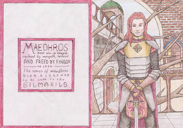 Maedhros Pagemarker by PyriteWolf